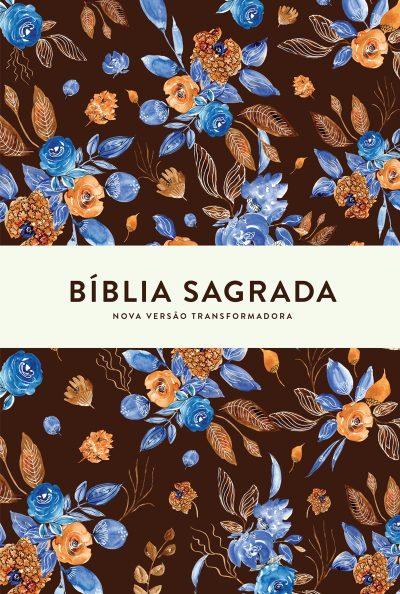 Bíblia SuaNVT - Blue Flowers